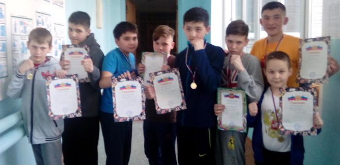 Спортсмены из «Атаки» успешно выступили в Бийске