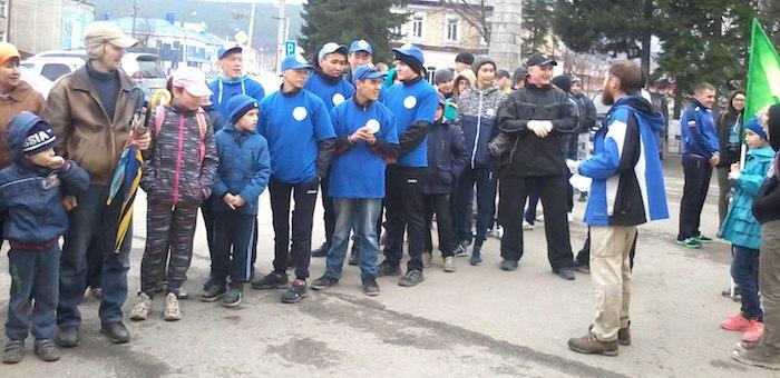 Около 40 человек приняли участие в трезвой пробежке
