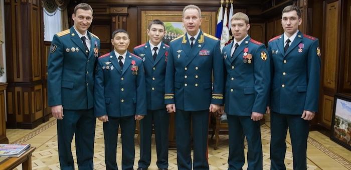 Аткунова и Соронокова наградили за заслуги перед Отечеством