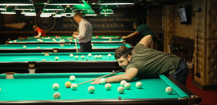 В Altai Palace прошел открытый турнир по бильярду (фото)