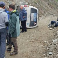 На Кату-Ярыке перевернулся автобус с туристами (фото, видео)