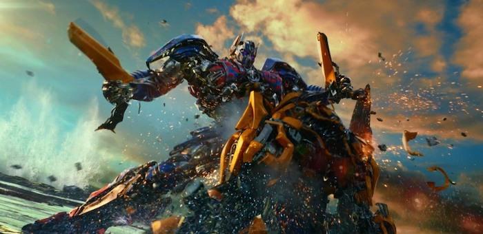 Новые «Трансформеры»: шоу гигантских роботов