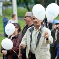 Около 80 человек пришли на протестный митинг в Горно-Алтайске
