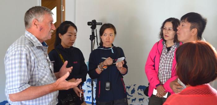 Китайские экологи посетили Катунский заповедник