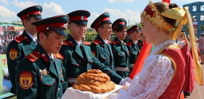 Горно-алтайские казаки приняли участие в Слете казачьей молодежи Сибири