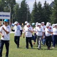 Сборная Горно-Алтайска победила в спартакиаде пожилых граждан