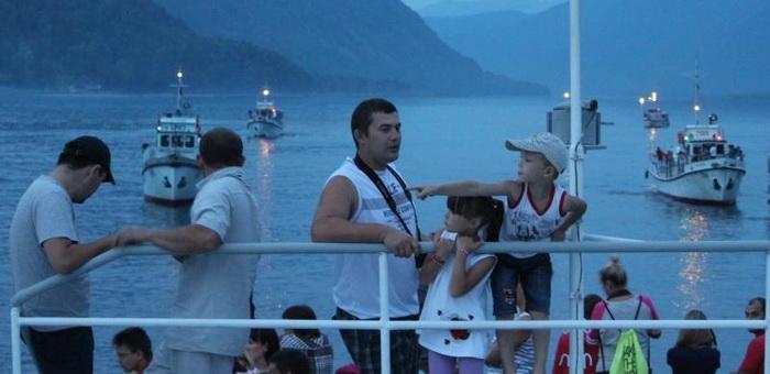 Водный праздник и парад кораблей пройдут на Телецком озере