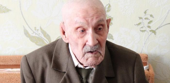 Ветеран войны Анатолий Казаков отметил столетний юбилей