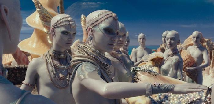 Новые пришельцы от Люка Бессона: невероятные, красочные, поражающие воображение