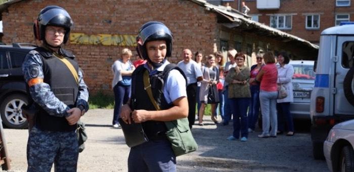 Контртеррористические учения прошли в Горно-Алтайске