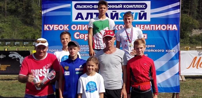 Горно-алтайские спортсмены успешно выступили на первенстве по летнему биатлону