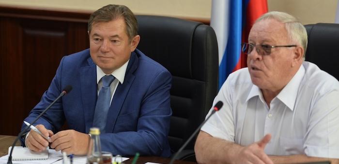 Советник президента Сергей Глазьев посетил Республику Алтай