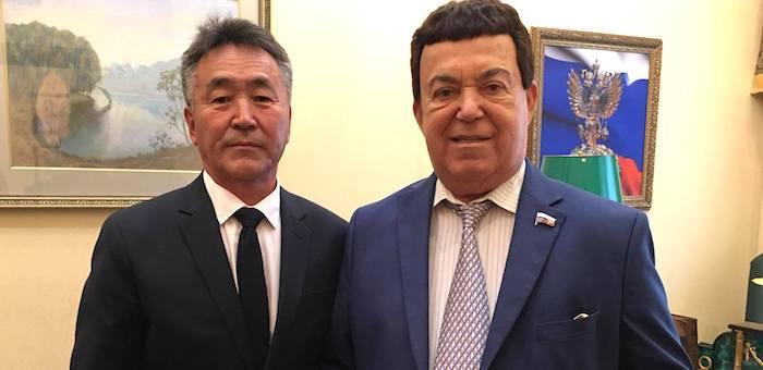Иван Белеков поздравил Иосифа Кобзона с юбилеем