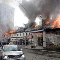 Пожар на автомойке в Горно-Алтайске. Подробности от МЧС
