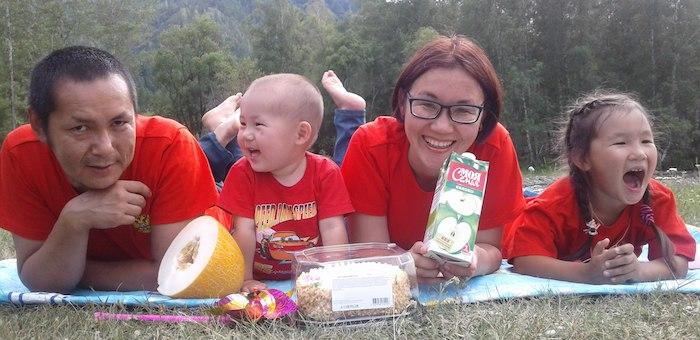 В Республике Алтай определены победители конкурса семейных фотографий