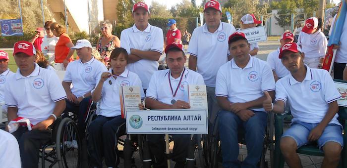 Алтайские спортсмены успешно выступили на соревнованиях «Пара-Крым»