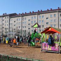 В Горно-Алтайске в этом году благоустроили пять дворов
