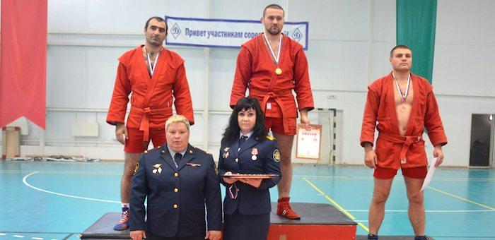 Представитель Республики Алтай завоевал золото на соревнованиях ФСИН по самбо