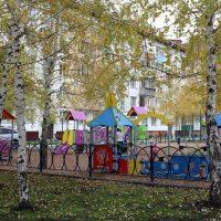 «Городская среда»: в Горно-Алтайске благоустроили еще два двора