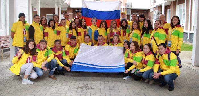 Делегация Республики Алтай участвует во Всемирном фестивале молодежи и студентов в Сочи