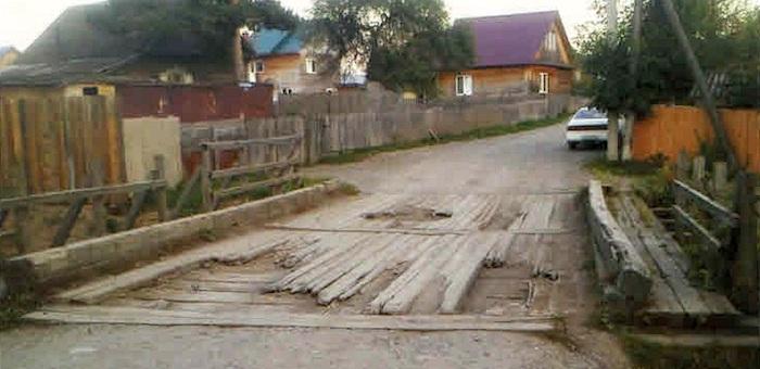 В Алферово отремонтируют мост через Улалушку