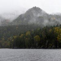 Осенняя прогулка до водопада Корбу. Фотозарисовка