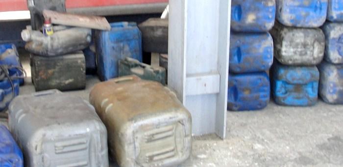 Контрабандист пытался провезти товары из Монголии в канистрах