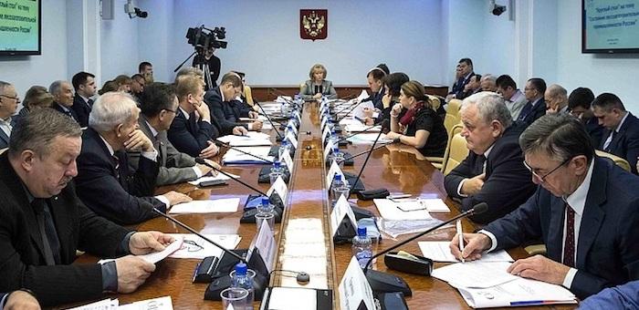 Татьяна Гигель провела в Совете Федерации совещание по развитию лесной промышленности