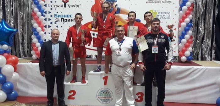 Алтайские самбисты стали призерами Кубка России