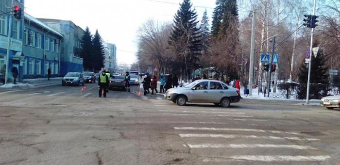 70-летнего пешехода сбили на «зебре» в Горно-Алтайске