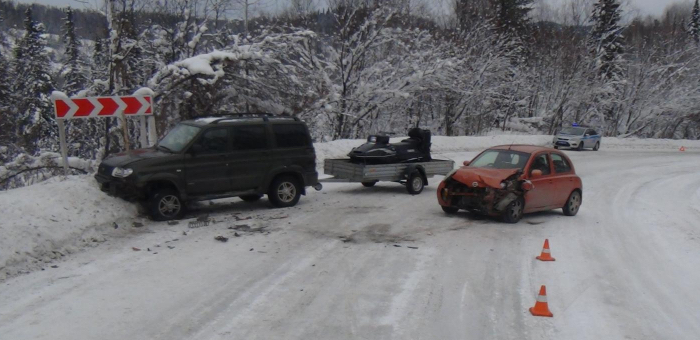Пять человек получили травмы в автоавариях за минувшие выходные
