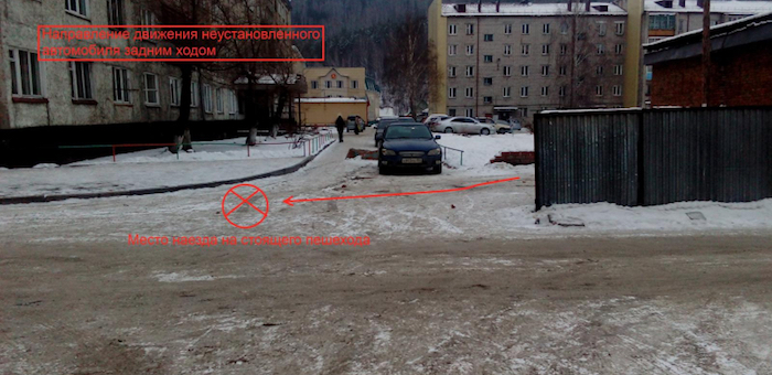 В Горно-Алтайске сбили девушку, водитель скрылся с места ДТП