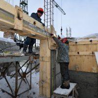 Строительство Майминской ЦРБ идет полным ходом