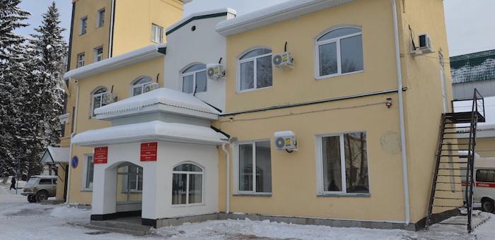 Завершается ремонт станции скорой помощи в Горно-Алтайске