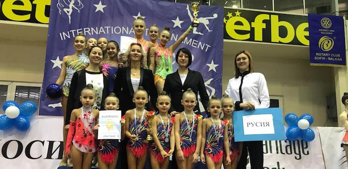 Юная гимнастка из Республики Алтай завоевала золото на турнире в Болгарии