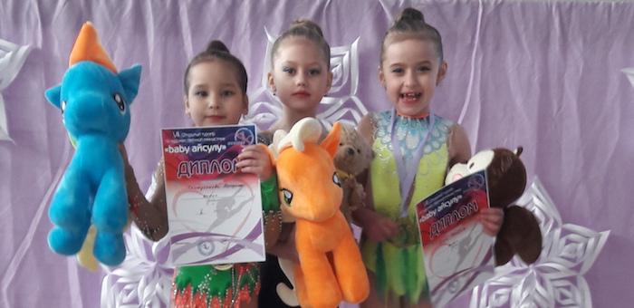 Юные гимнастки из Горно-Алтайска успешно выступили в Казахстане