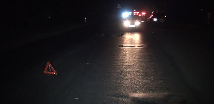 Нетрезвый пешеход ночью попал под машину на Чуйском тракте
