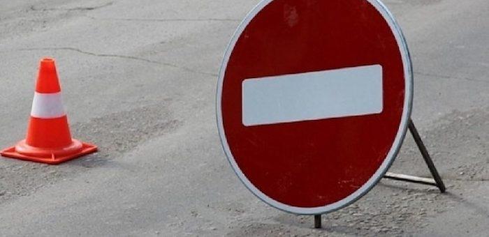 На некоторых дорогах республики ограничено движение транспорта