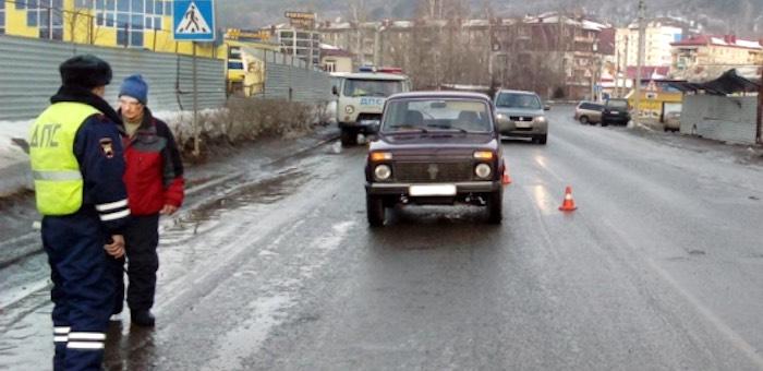 80-летний водитель на «Ниве» сбил пенсионерку
