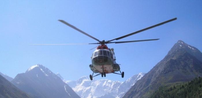 54 человека эвакуировано на Алтае с помощью авиации с начала года