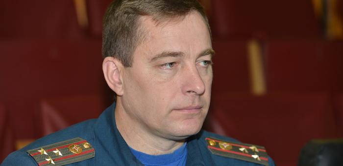 Начальником ГУ МЧС назначен Андрей Бурлаков