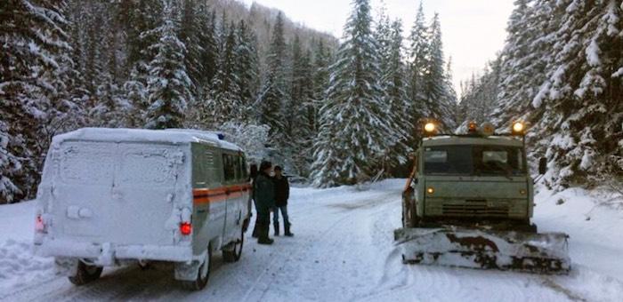 Транспортное сообщение с Улаганским районом восстановлено