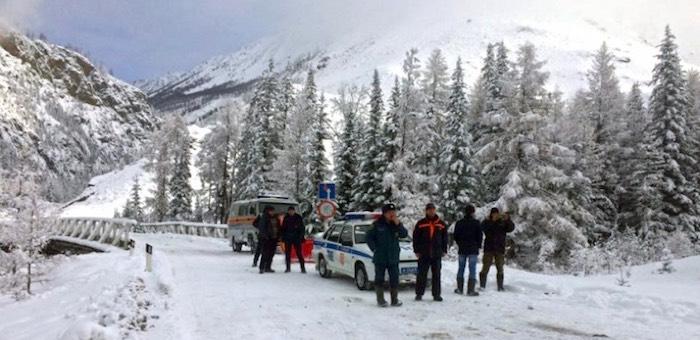 Из-за снегопада и дождей нарушено транспортное сообщение с Улаганским районом