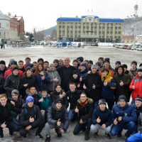 Александр Карелин провел в Горно-Алтайске «Межнациональную зарядку»