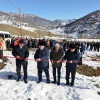 В Шашикмане открылся новый спортзал, а в Купчегене - водопровод