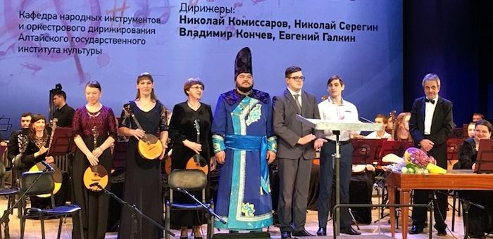 Алтайские музыканты выступили в Барнауле