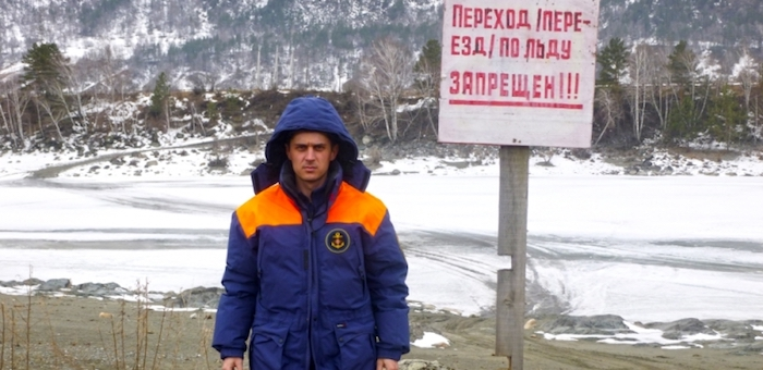 На Алтае закрыты все ледовые переправы