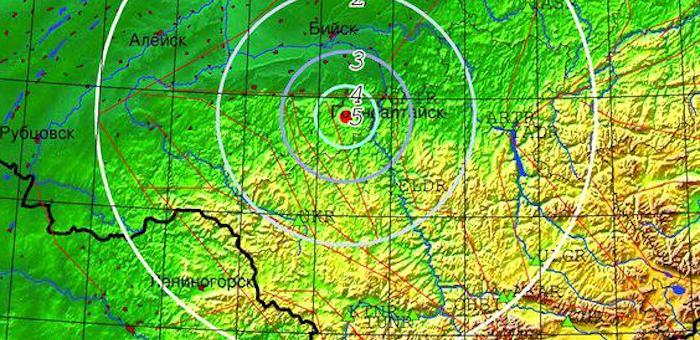 Недалеко от Горно-Алтайска произошло землетрясение