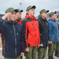 Завершилась военизированная эстафета для призывников