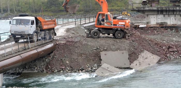 На мост в Тюнгуре правительство России выделило еще 442 млн рублей